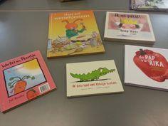 Nieuwe boekjes gekocht voor het thema koken!