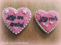 Valentine Cookies...@Sweet Ivy Confections