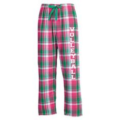 Volleyball flannel PJ pants!