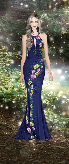 Fairy Lake Covet Fashion Games, Fashion Art, Girl Fashion, Fashion Dresses, Fashion Looks, Fashion Design, Dress Sketches, Fashion Sketches, Simple Gowns