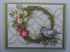Card Corner by Candee: Friendship Wreath Card