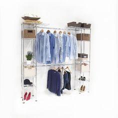 8e242ee6dfb9 Amazon.com  Seville Classics Expandable Closet Organizer System  Home   amp … Closet