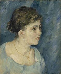 Portrait of a Prostitute - Vincent van Gogh 1885