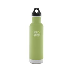 Sized for a morning java, this bottle keeps hot stuff steaming for up to 12 hours and iced drinks frosty for 24.