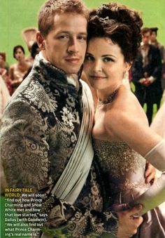 They may be my new favorite story couple. sorry Mr Darcy and Elizebeth Bennett. Ouat Snow White, Snow White Prince, Colin O'donoghue, Jennifer Morrison, Once Upon A Time, Undercut Asymmetrical Pixie, Prince Charming Costume, Josh Dallas And Ginnifer Goodwin, Snow And Charming