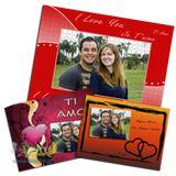 Puzzle di foto personalizzato con scritte e immagini romantiche