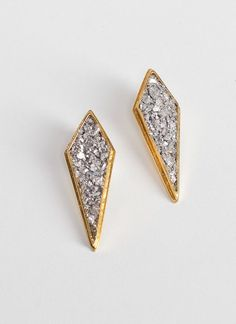 lady grey apex earrings
