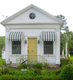 Nice small house with awnings