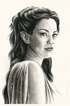 "Arwen Undomiel by thewholehorizon.deviantart.com on @deviantART - From ""The Lord of the Rings""."