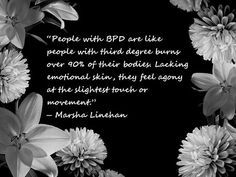 BPD is Borderline Personality disorder