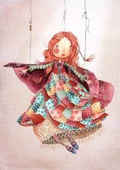 Эта молодая художница из Лондона покоряет своим удивительно добрым, наивным и детски непосредственным видением мира. Яркие краски, экспрессия и главные герои - маленькие жители сказок, грез и фантазий. Знакомьтесь - Холли Клифтон-Браун и ее трогательные, милые и совершенно волшебные иллюстрации!