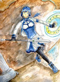 Mary from Grimgar of Fantasy and Ash by rain-ant on DeviantArt Grimgar, Ant Art, Ants, Illusions, Rain, Princess Zelda, Deviantart, Fictional Characters, Rain Fall