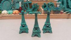 Eiffel Tower decoration dollhouse por TheDollHouseNym en Etsy