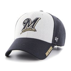 f413553be61 Milwaukee Brewers Beta MVP Navy 47 Brand Adjustable Hat