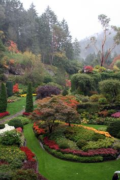 Butchart Gardens - lovely place...went there with my parents in 9th grade...