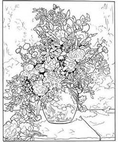 Book Coloring Page 1 2 Full Color Pictures Inpressionism