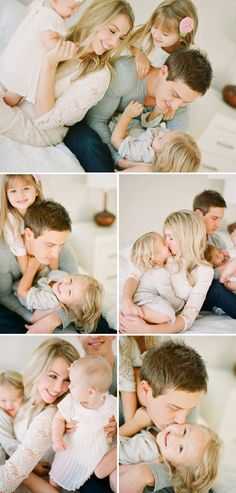 This stunning indoor family session from Something Beautyfull is full of gorgeous light and warmth, capturing photographer Meg Borders' beautiful family.
