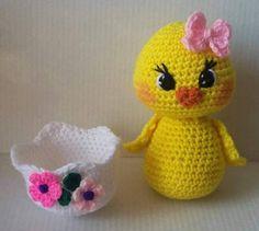 Crochet Beautiful Duck Pattern Only