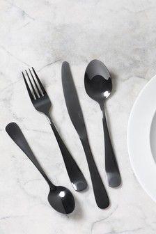 Set de couverts rois Luxe Qualité Acier Inoxydable Couverts 16 20 24 32 Dinner Set
