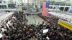 Panik in New York | Flughafen nach Bolt-Sieg evakuiert - Olympia 2016 - Bild.de