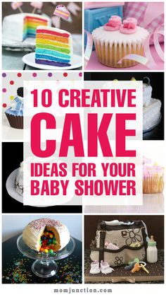 10 Creative Cake Ideas for Your Baby Shower