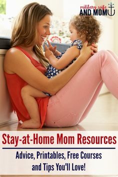 With the right stay-at-home mom resources you can discover happier and more…
