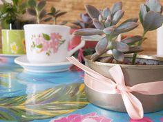 Dica de objeto decorativos: Objetos antigos transformados em vasos para suculentas -  Blog Dona Engenhosa