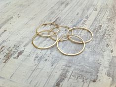 Knot ring infinity knot gold ring knot knuckle ring above by Avnis