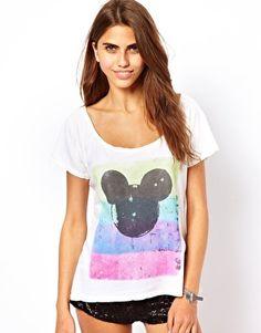 For a future Disneyland visit! Need to screenprint this.. Junk Food Mickey T-Shirt