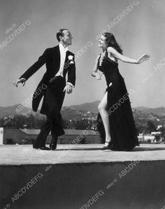 8b20-14165 Rita Hayworth Fred Astaire dance sequence film You'll Never Get Rich