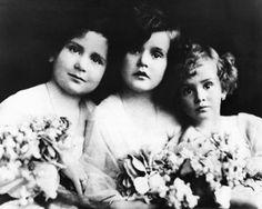 Magda, Zsa-Zsa, and Eva Gabor Zsazsa was born February 6, 1917.