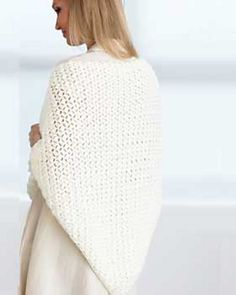 Ravelry: Crochet Prayer Shawl pattern by Bernat Design Studio....free