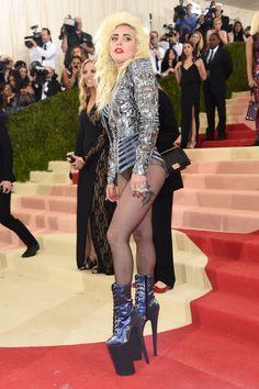 Lady Gaga in Atelier Versace   - HarpersBAZAAR.co.uk
