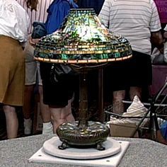 Tiffany Studios Fish Lamp