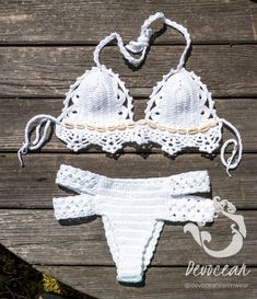Crochet bikini wonderer - Crochet swimsuit - Crochet Lace Swimwear by Crochetbikinisbyfabi on Etsy