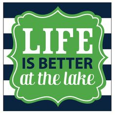 Life is Better At The Lake Beverage Napkins perfect for entertaining at the lake or as a thoughtful hostess gift. Dinner Napkins, Cocktail Napkins, Lake Party, Lakeside Cabin, Lake Signs, Beverage Napkins, Party Cups, Guest Towels, Lake Life
