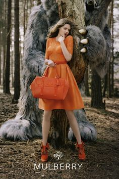 Lindsey Wixson for Mulberry Aw12 by Tim Walker. Very cute