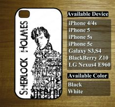 sherlock holmes case  for iphone 4/4s iphone 5 by miningcase, $13.45