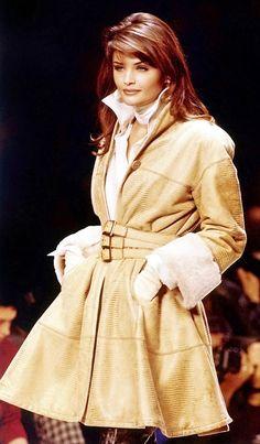 Helena Christensen - Christian Dior, F/W 1992