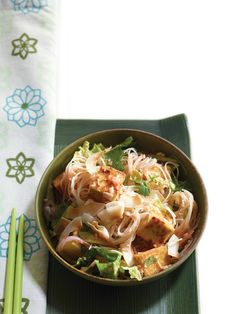 Street food vendors all over Southeast Asia offer versions of this delicious rice noodle dish.