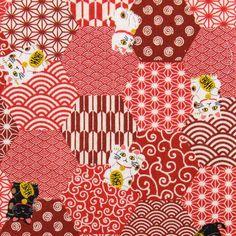 Traditionelle japanische Kimono (Yukata) Schöne und moderne Muster Stoff. Dieser Stoff ist ein Grund Baumwolle Material, einfach zu bedienen und eignet sich für die Herstellung Alle Produkte  _...