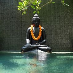 #Buddha statue at Amanputri Villa Seminyak #Bali #hotel #villa #holiday #family #honeymoon www.amanputri.com