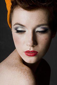 Makeup...mOyO - Decades of Beauty - mOyO for Bourjois photo shoot