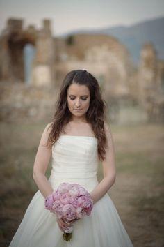 Down to Earth Real Wedding in Prespes, Greece – ellwed Wedding Bouquets, Wedding Dresses, Greek Wedding, Diy Flowers, Flower Arrangements, Real Weddings, All Things, Greece, Bridal