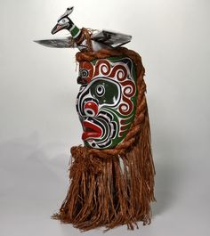 Komokwa • Chief of the Undersea World Mask by Donald Svanvik, Kwakwaka'wakw artist (X110601)