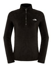 The North Face Womens 100 New Glacier Quarter Zip Fleece - TNF The North Face Womens 100 New Glacier Quarter Zip Fleece is a classic and quick drying piece that can be used as a layer or on its own and is ideal for any outdoor adventure or for everyday use http://www.MightGet.com/january-2017-13/the-north-face-womens-100-new-glacier-quarter-zip-fleece--tnf.asp
