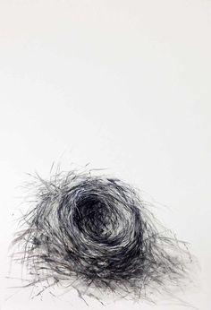 """""""le nid d'oiseau"""" (T"""