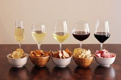 Perfect Wine & Snack Pairings: French fries and Riesling. Pizza and Chianti. Cool Ranch Doritos and Rose. These are the lowbrow snack and wine pairings you need to know aboutnow.