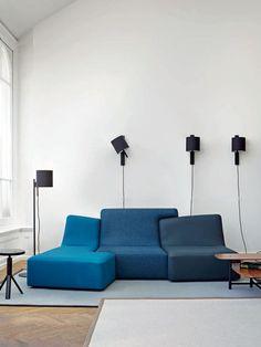 Modul-Sofa / modern / für Innenbereich / Leder CONFLUENCES Ligne Roset