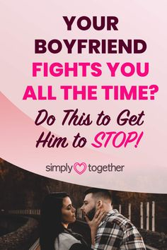 Arguing with your boyfriend on a daily basis is absolutely exhausting. Here is what to do to get him to finally stop fighting with you. Relationship Problems, Relationship Advice, Stop Fighting, Your Boyfriend, Got Him, How To Get, Relationship Tips